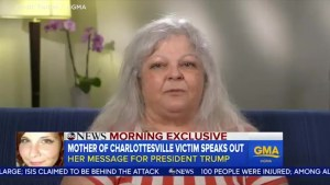 Mother of woman killed in Charlottesville says she won't take President Trump's phone call